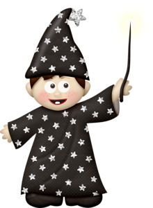 Wizard clipart boy Images 394 about fall/Halloween clip
