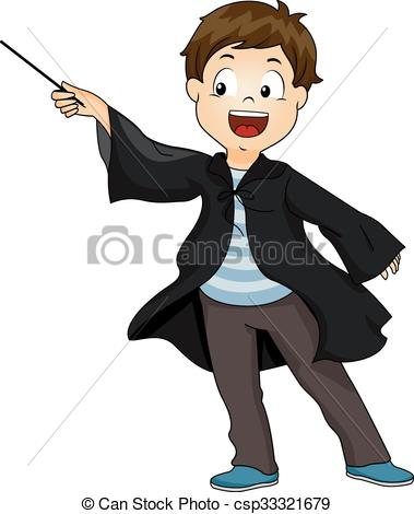 Wizard clipart boy Wave  Wizard of Wave