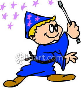 Wizard clipart boy Clipart a Free Dressed Royalty