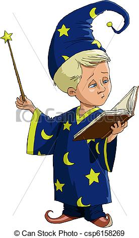 Wizard clipart boy Vectors wizard white of The
