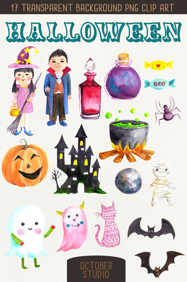 Wizard clipart castle Halloween Bat Bat Mummy Clip