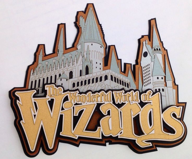 Wizard clipart castle Wizards paperwiz  on Pinterest