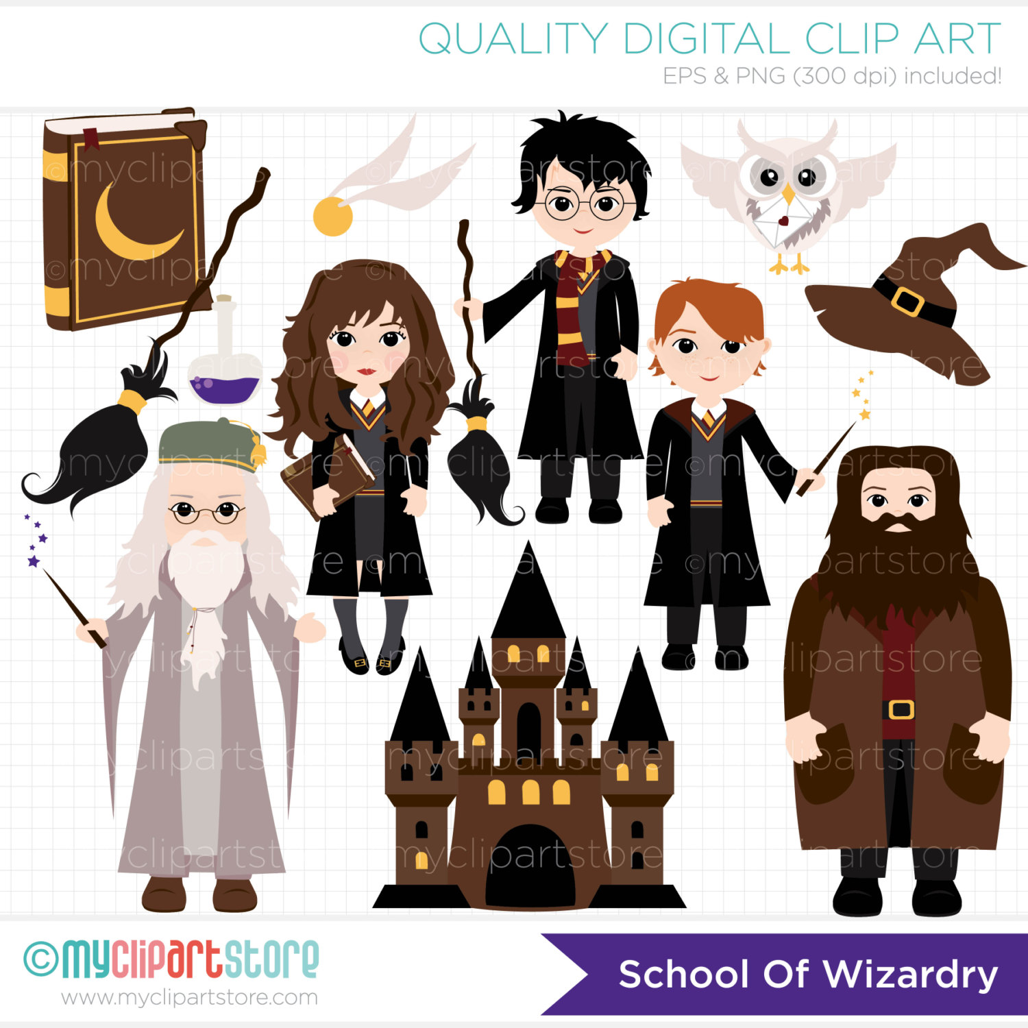Wizard clipart castle This Wizardry Griffendor a