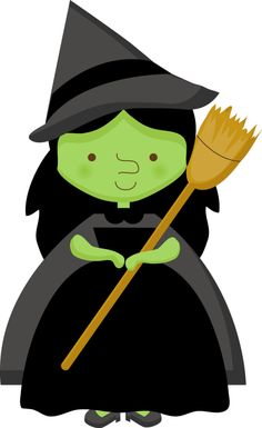 Wizard clipart green #15