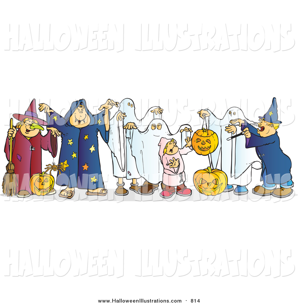 Costume clipart halloween ghost Halloween  Children in Ghost
