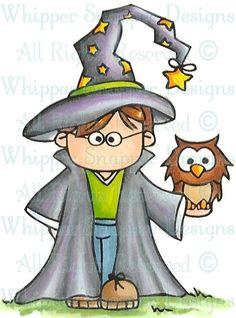 Wizard clipart halloween #10
