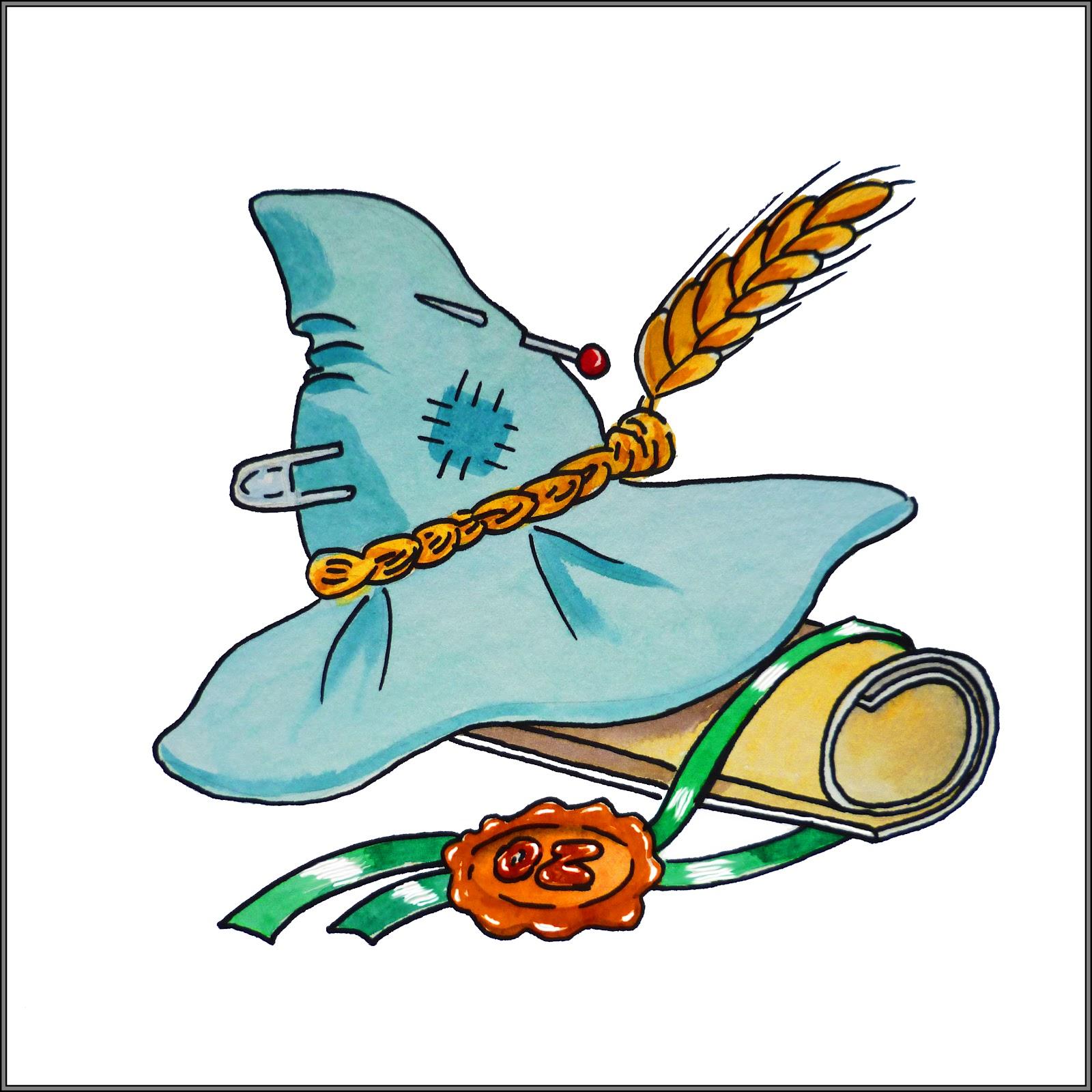 Wizard clipart hat clip art Scarecrow Clipart Clip Hat Clip