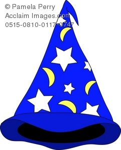 Wizard clipart hat clip art Moons Illustration Clip and and