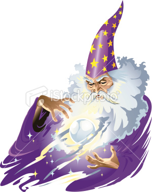 Wizard clipart magic man Practices the supernatural iStock containing