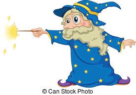 Wizard clipart magic man Wizard Paper; a Old Magic