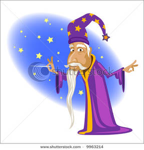 Wizard clipart magic wand His A a a Carefully