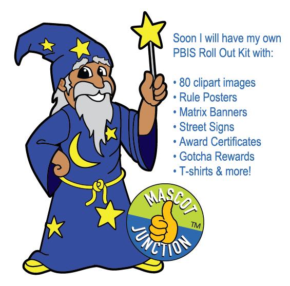 Wizard clipart mascot #9
