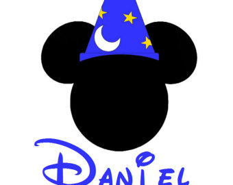 Sorcerer clipart hat Not Disney Transfer Custom transfer