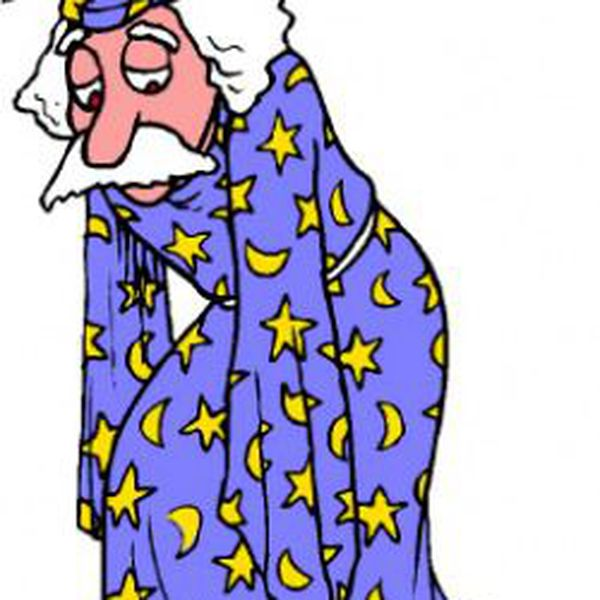 Wizard clipart sad #13