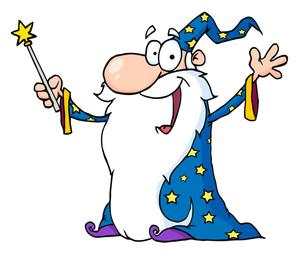 Wizard clipart sorcerer #7