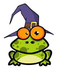 Sorcerer clipart hat A Frog Looking or