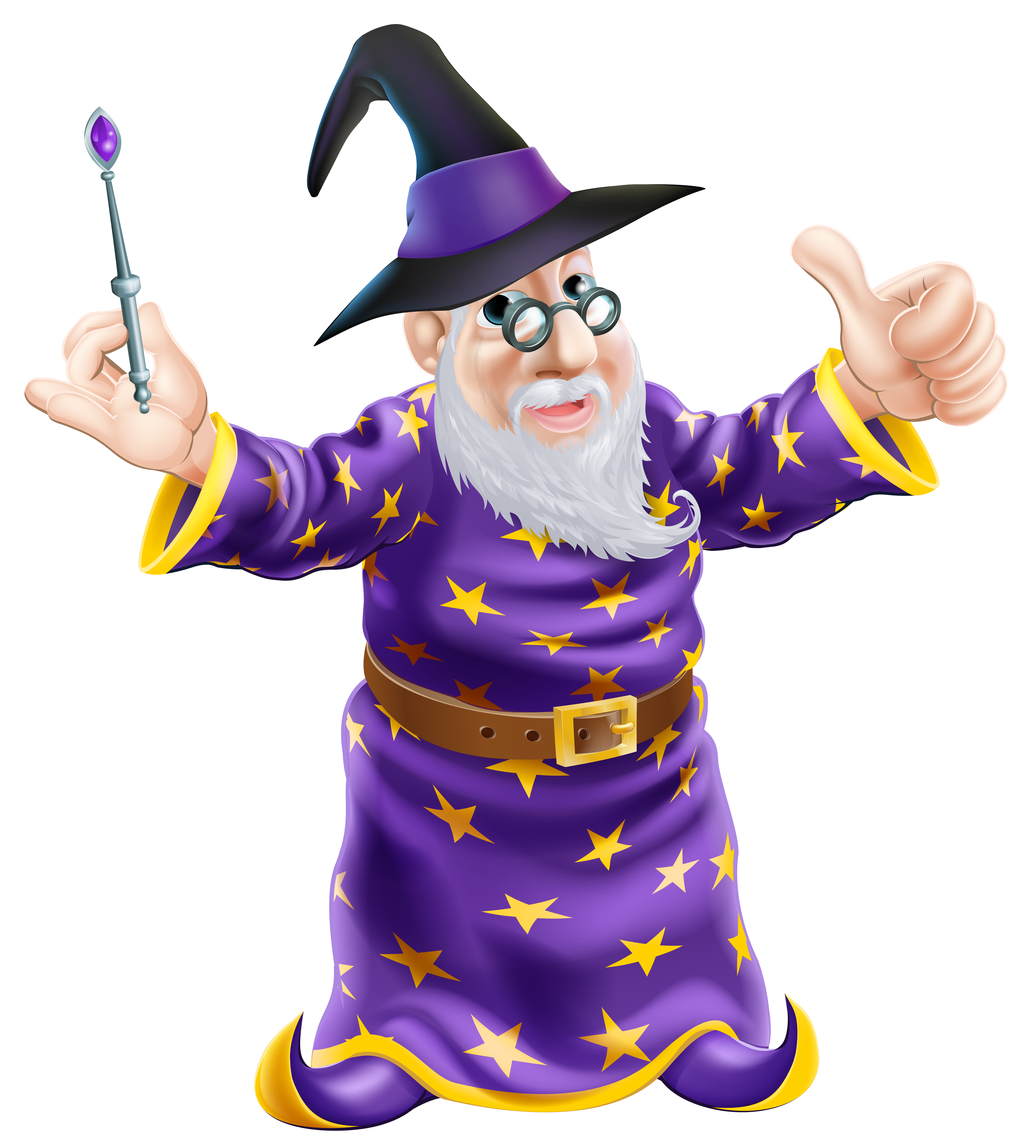 Wizard clipart transparent Size  Clipart full High