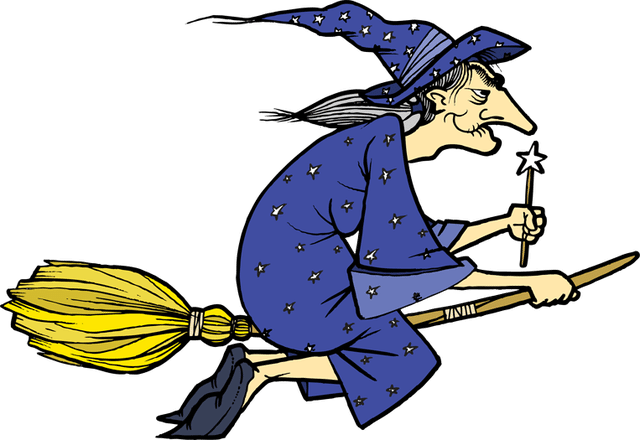 Witch clipart blue Clip Her Art Of Witch
