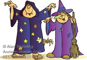 Wizard clipart witch Illustration Wizard of Clipart of