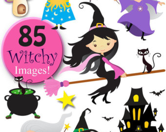 Wizard clipart witch #9