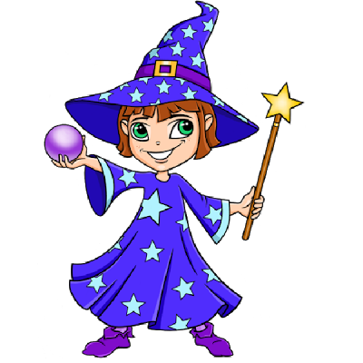 Wizard clipart woman #5