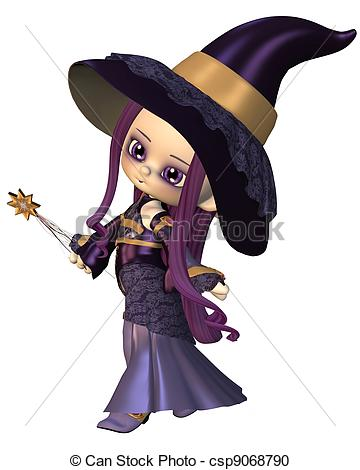 Wizard clipart woman #3