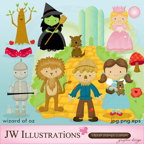 Wizard Of Oz clipart #7