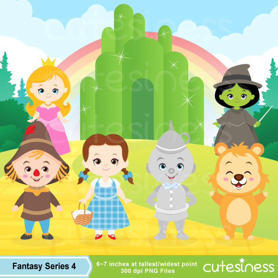 Wizard Of Oz clipart Clipart clipart Digital of of