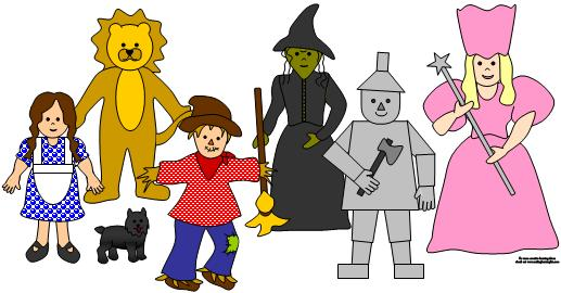 Wizard Of Oz clipart Art Free Clipart Clip Of