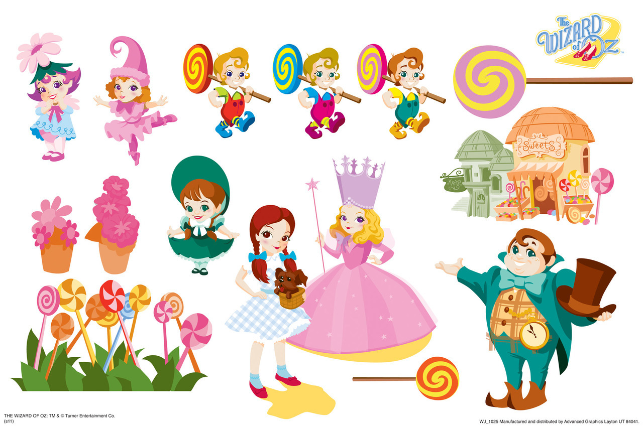 Wizard Of Oz clipart animated Of Fun Set WallJammer Oz
