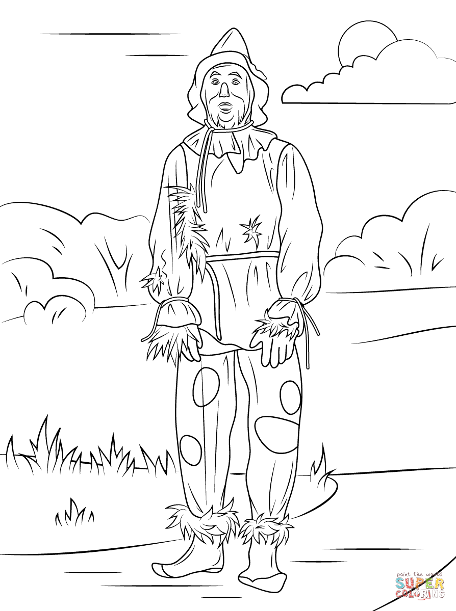 Wizard Of Oz clipart coloring page Color tablets) of iPad Wizard
