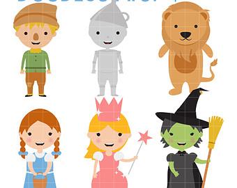 Wizard Of Oz clipart digital Wizard Of Oz Wizard Crafts
