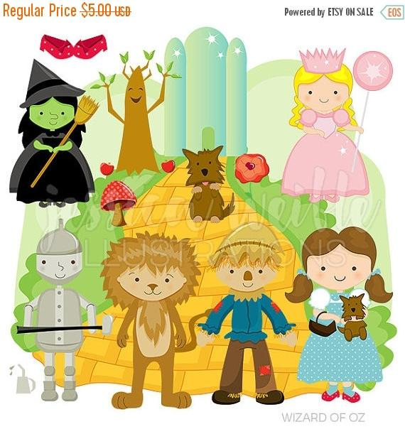 Wizard Of Oz clipart digital Oz Wizard of Commercial or