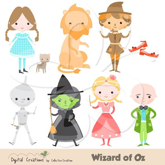 Wizard Of Oz clipart digital Images of Oz on