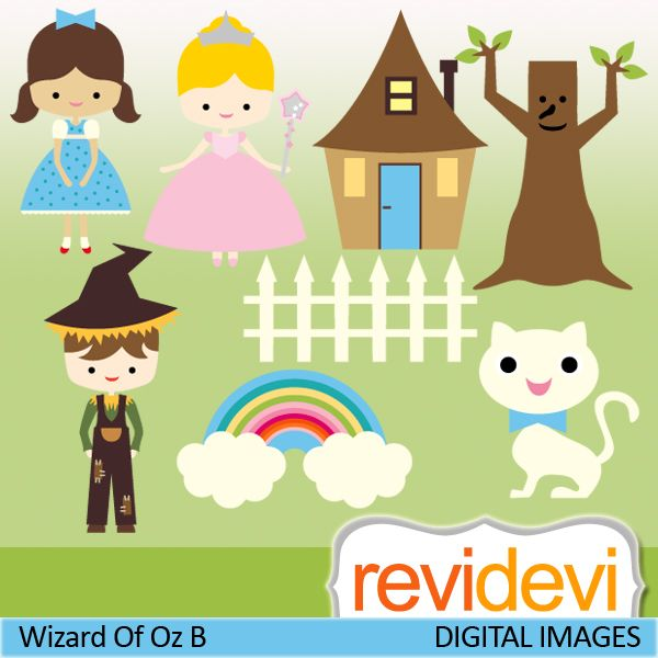 Wizard Of Oz clipart digital About of Oz Wizard images