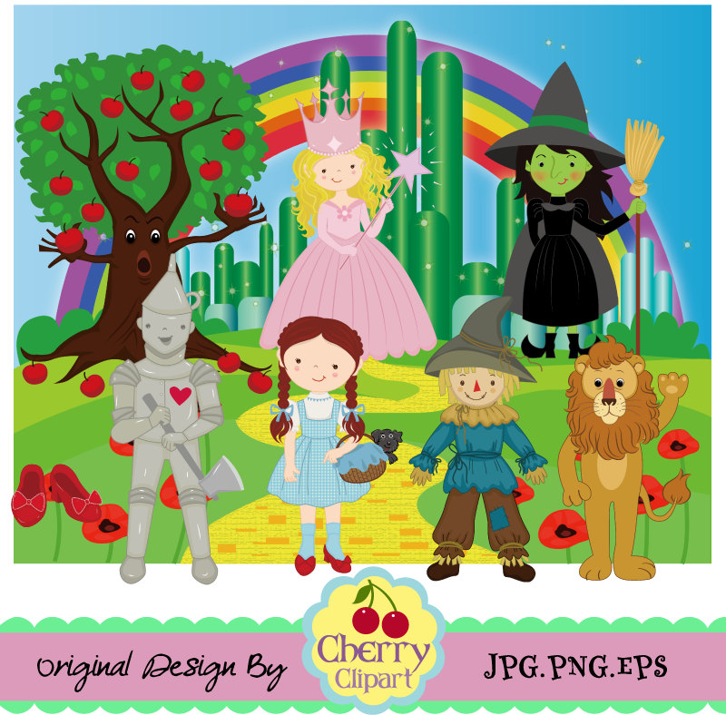 Wizard Of Oz clipart digital Art is a This Clip