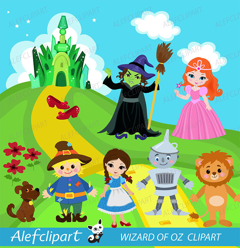 Wizard Of Oz clipart digital Wizard of Oz digital