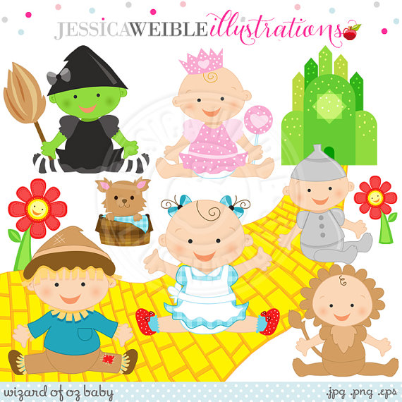 Wizard Of Oz clipart digital Of Use of Oz on