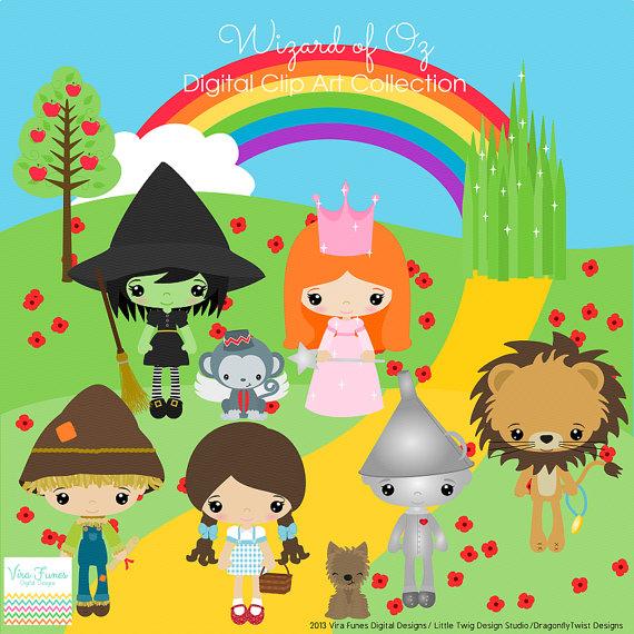 Wizard Of Oz clipart digital Com Of Oz Wizard Clipartion