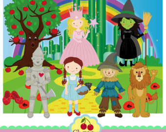 Wizard Of Oz clipart emerald castle Oz Commercial Art and of