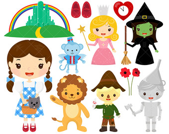 Wizard Of Oz clipart emerald castle Wizard Wicked / / Etsy