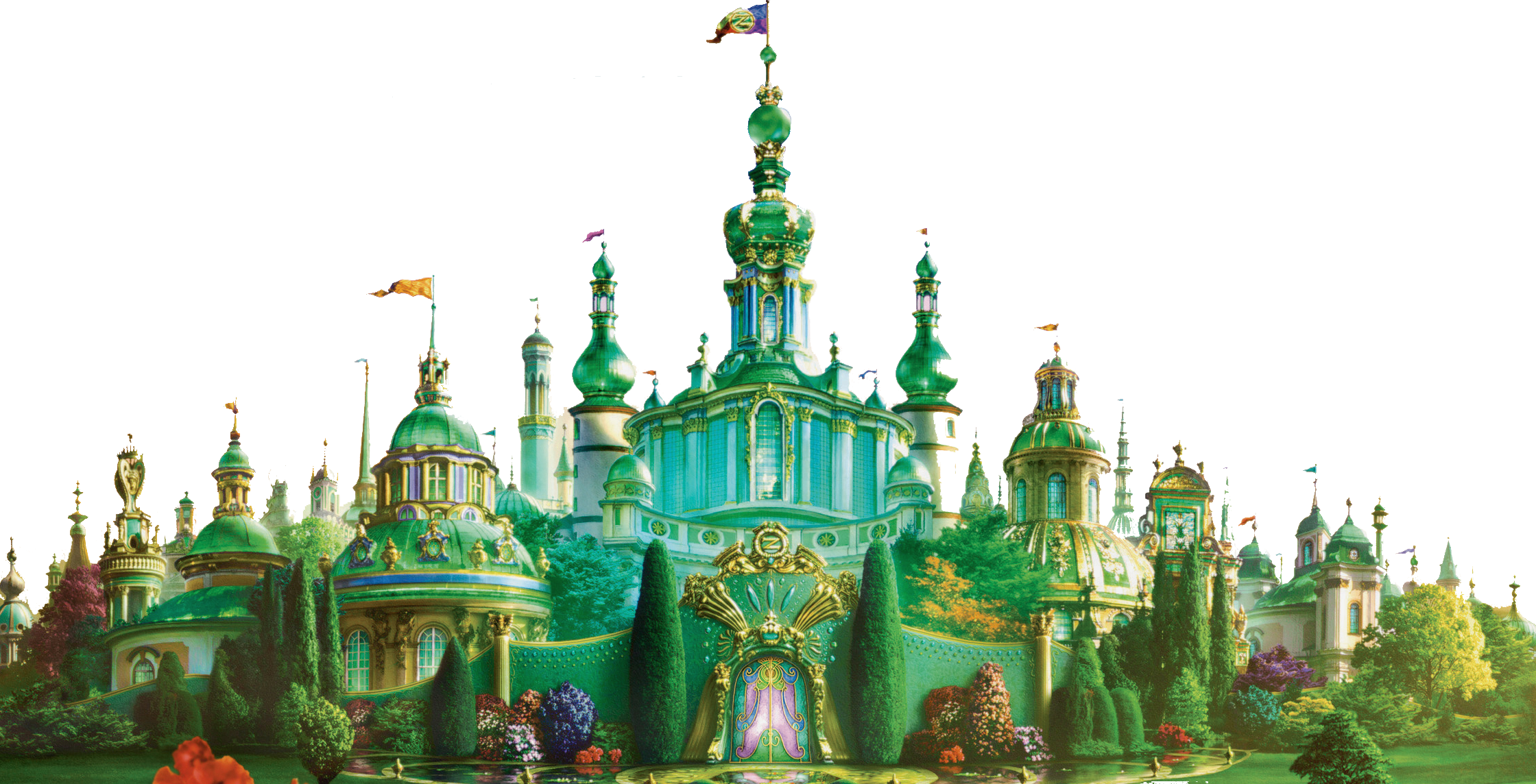 Wizard Of Oz clipart emerald castle And Backgrounds PNG Icons Png:Castle