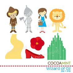 Wizard Of Oz clipart glenda Or toppers could clipart bag