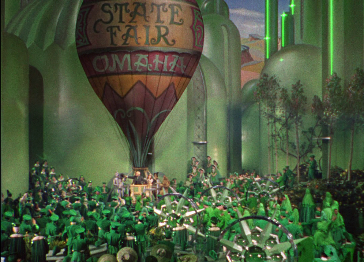 Wizard Of Oz clipart hot air balloon Scenes  You Can In