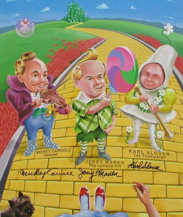 Wizard Of Oz clipart movie 3 Movie munchkins Vintage poster