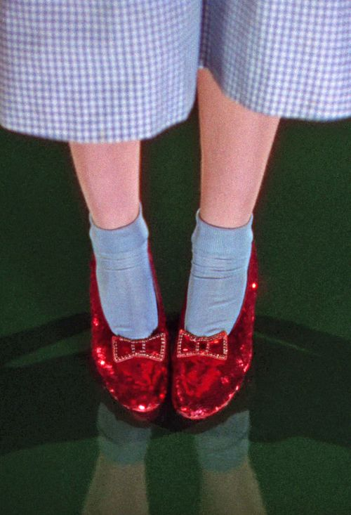 Wizard Of Oz clipart red shoe