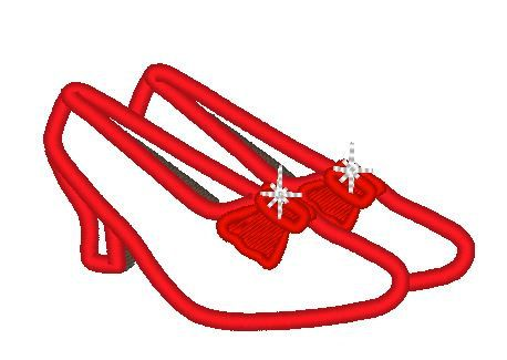 Wizard Of Oz clipart red shoe Ruby designs Pinterest machine slippers