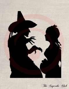 Shadows clipart wizard Of File of Custom Oz