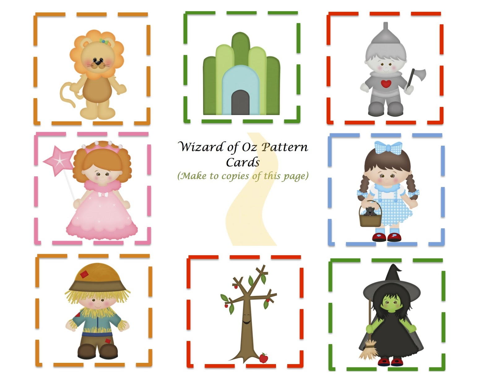 Wizard Of Oz clipart template Find Classroom in the to