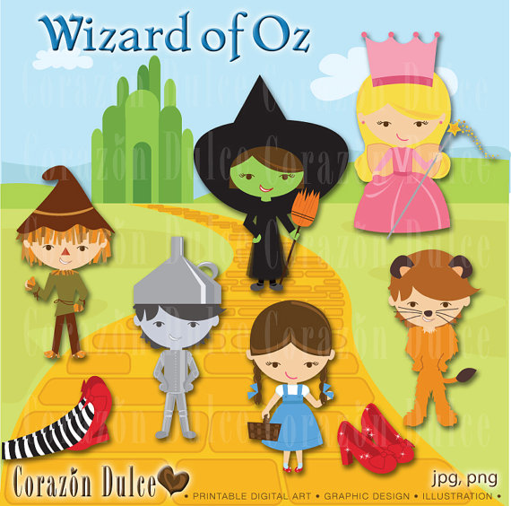 Wizard Of Oz clipart template  of Art Clip DOWNLOAD